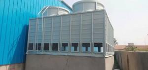 工业方形逆流式冷却塔